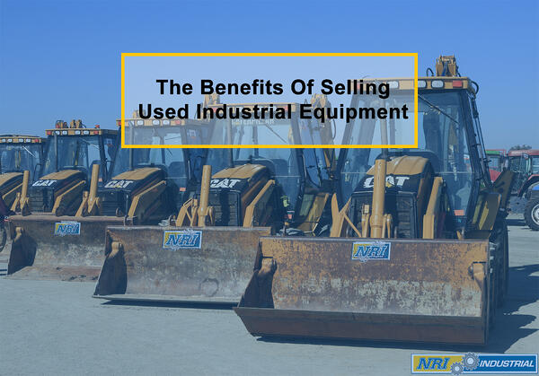 Selling Used Industrial Equipment