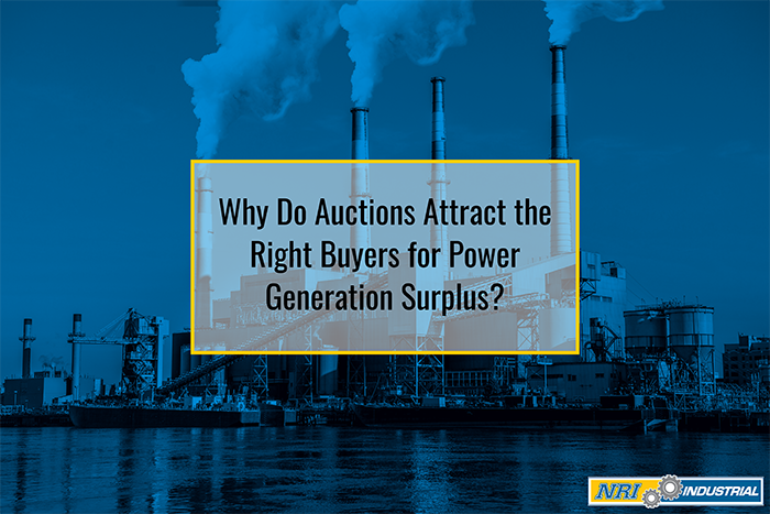 Why Do Auctions Attract the Right Buyers for Power Generation Surplus?