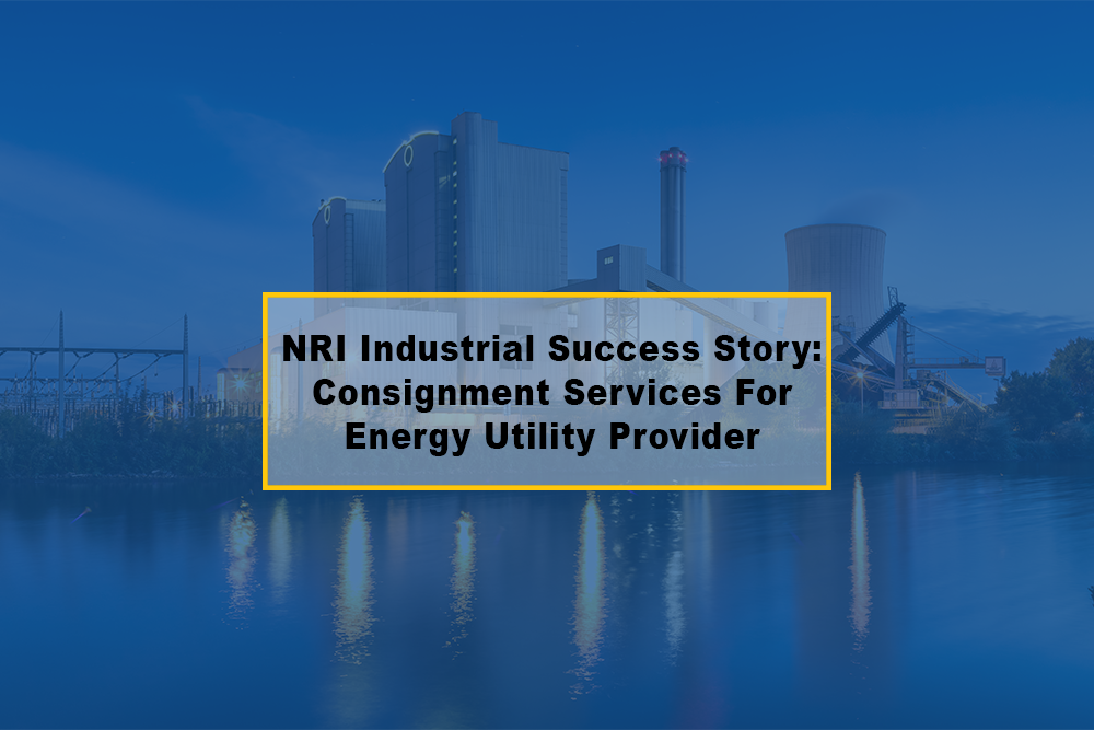 NRI Industrial Success Story: Consignment Services For Energy Utility Provider