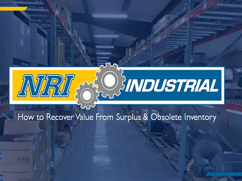 How to Recover Value from Surplus & Obsolete Inventory