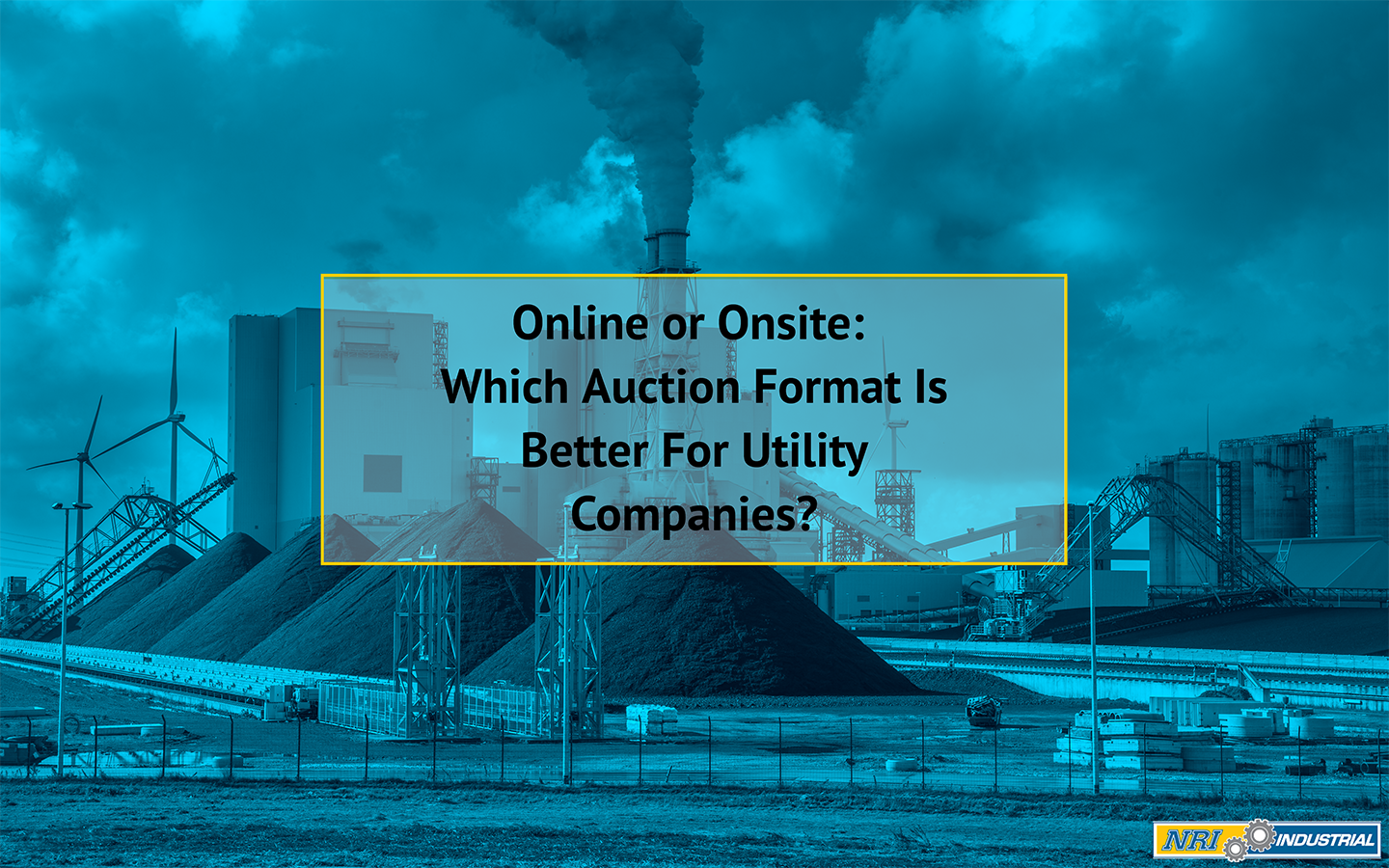 Online or Onsite: Which Auction Format is Better for Utilities Companies?